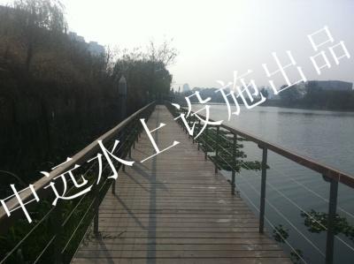 湖州某景区浮桥