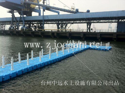 天津某厂区浮动平桥