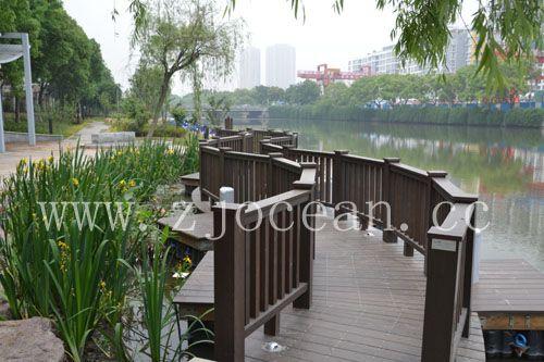 宁波某景区水上浮桥