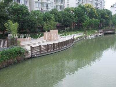 浙江某房产配套浮桥