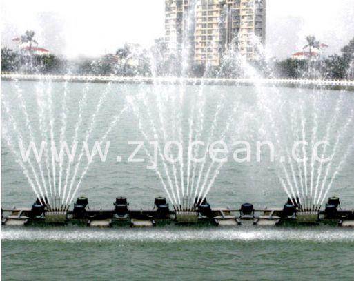 福建某景区水上喷泉