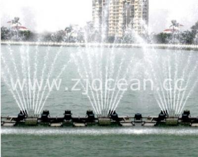 福建某景區水上噴泉