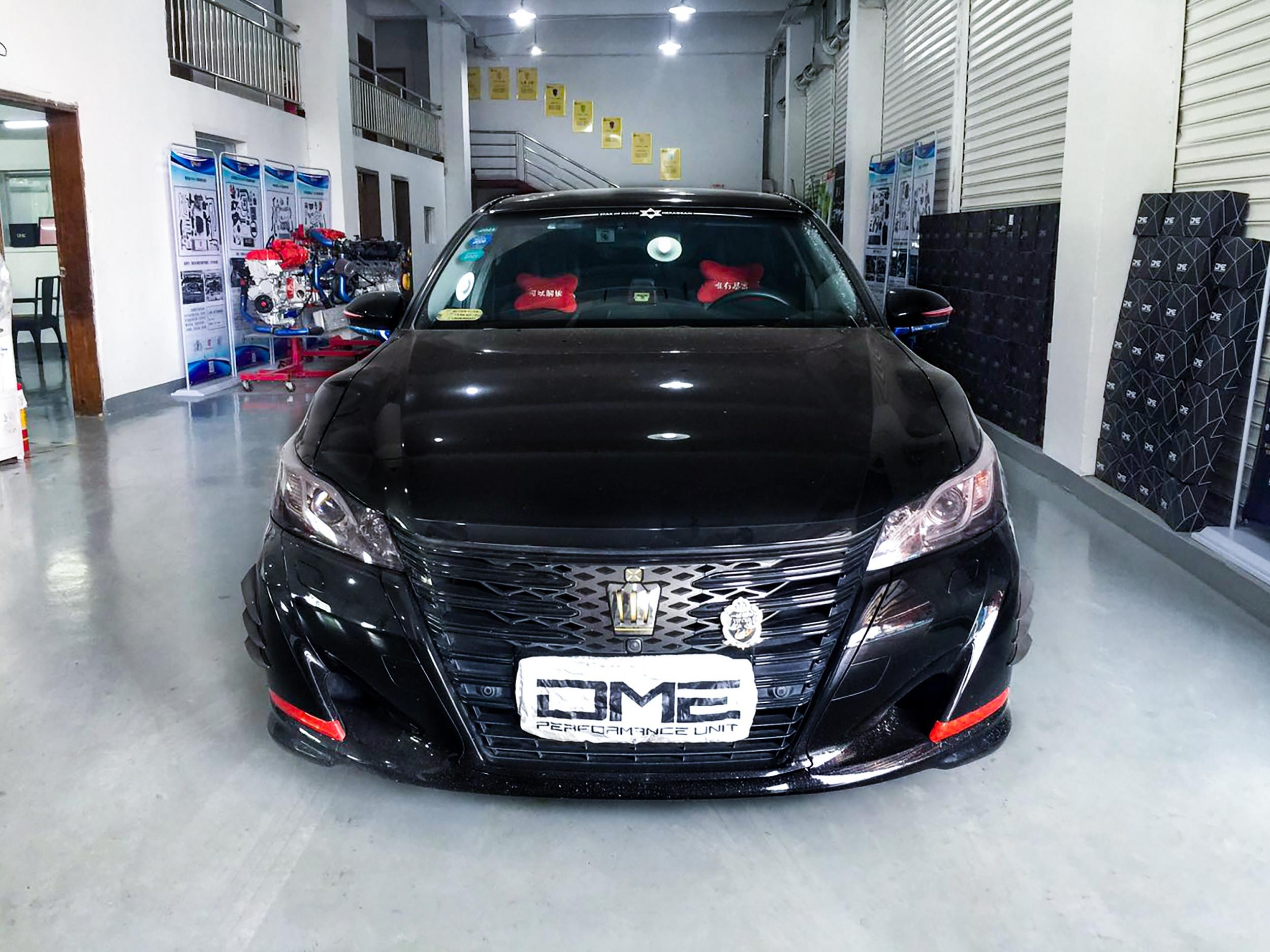 丰田皇冠-2.0T-8AR动力升级【DME外挂电脑程序】