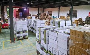 墨兰公主广州,郑州两个仓库共计发货10万单