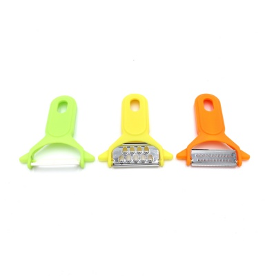 Stainless Steel Vegetable and Fruit Peeler with Easy Grip Handles