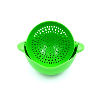 Food Grade Double Sink Strainer Basket for Vegetable and Fruit
