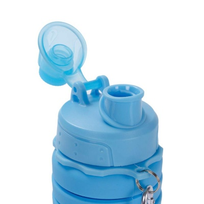 High quality amazon hot sell silicone collapsible water bottle