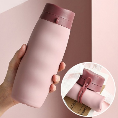 Food grade foldable water bottle on sales