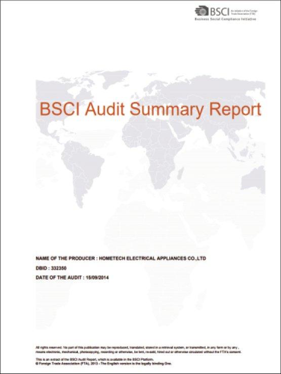 欧盟社会责任体系BSCI