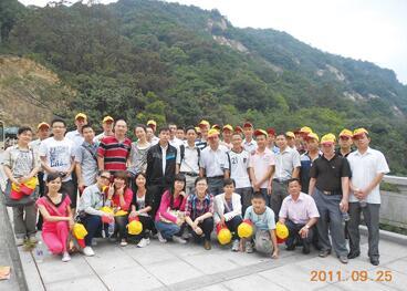 公司组织的年度旅游