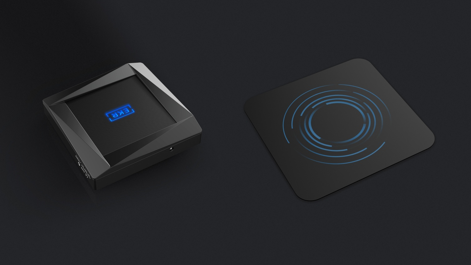 Contactless wireless charger