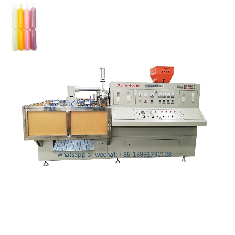 ice lolly pop bottle blow molding machine