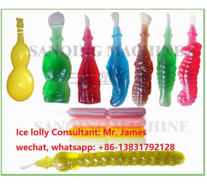ice lolly pop bottle blow molding machine