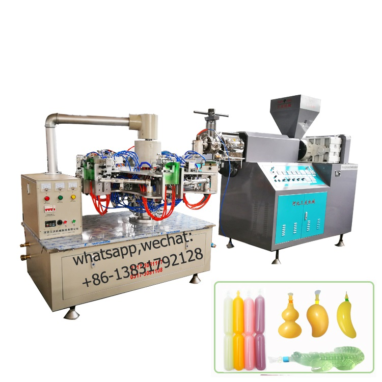 Ice lolly Tubes blowing machine