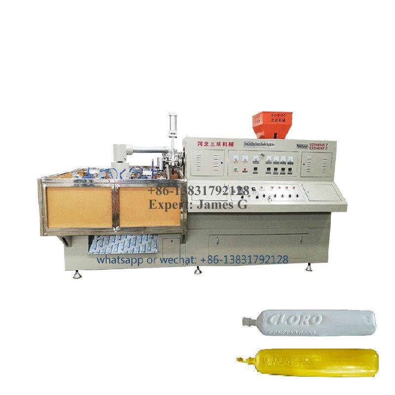 LDPE CLORO VINAGRE Bottles Blow Molding Machine
