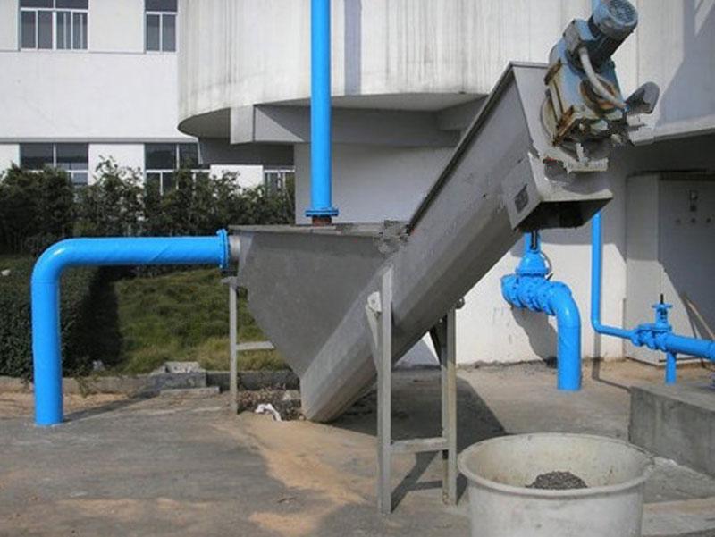 砂水分离器用于污水处理厂案例
