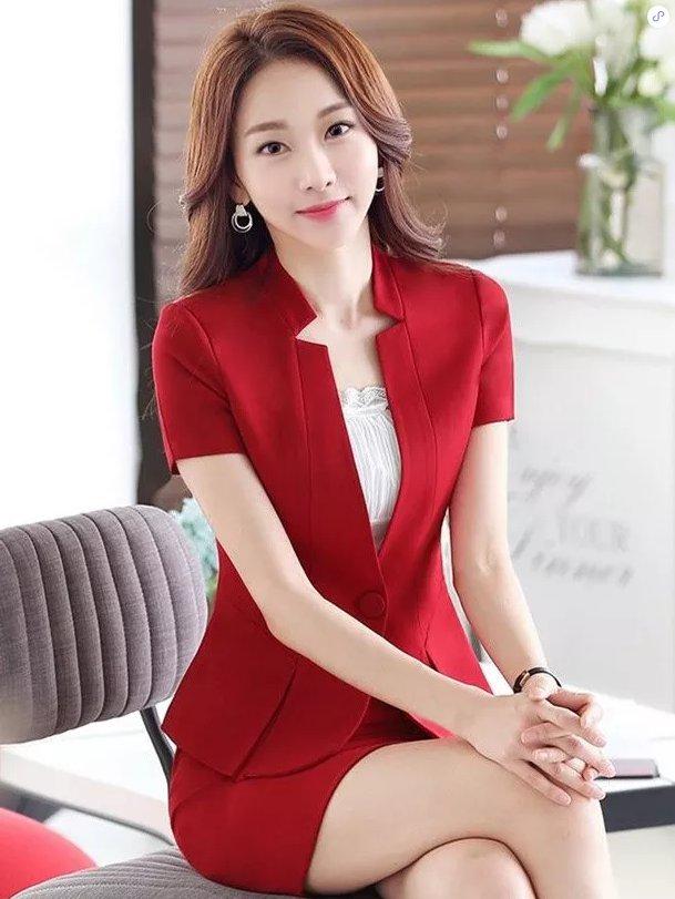 东莞职业装订做(女短裙款式2)