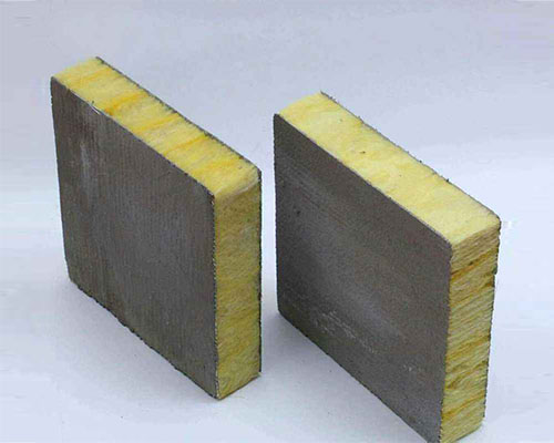岩棉彩钢复合板