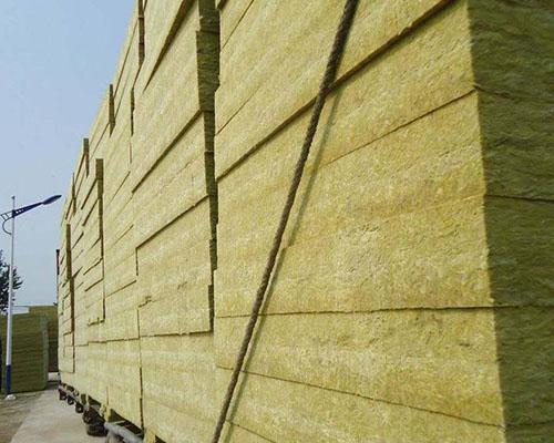 外墙外保温用岩棉板
