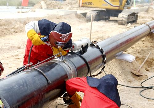 天然气管道用螺旋钢管