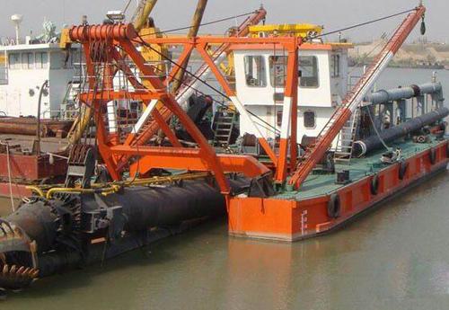 疏浚用螺旋钢管应用