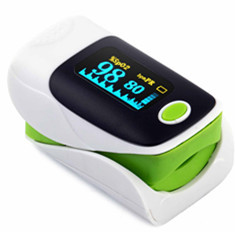 外贸5色MQ厂家OLED显示屏指夹式血氧仪 Finger Pulse Oximeter