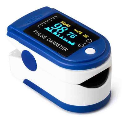 蓝牙4.0 OLED指夹式脉博血氧仪 可以定制