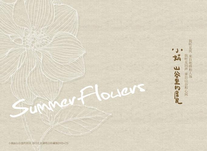 小娟 山谷里的居民——《Summer Flowers生如夏花》CD+DVD