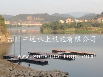 A yacht terminal in zhejiang