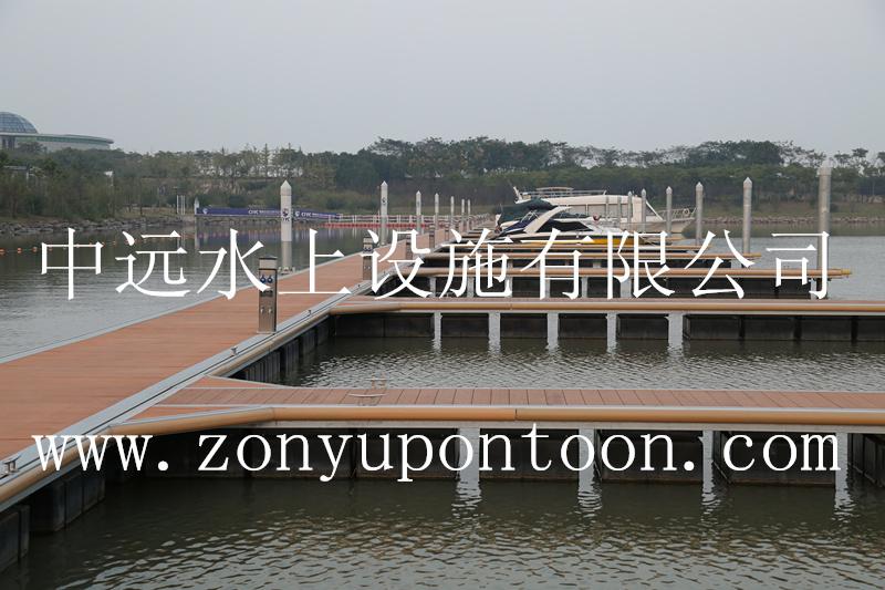 High-end yacht terminal