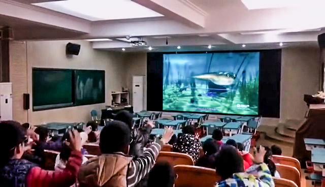 宁波海曙中心小学智慧教室