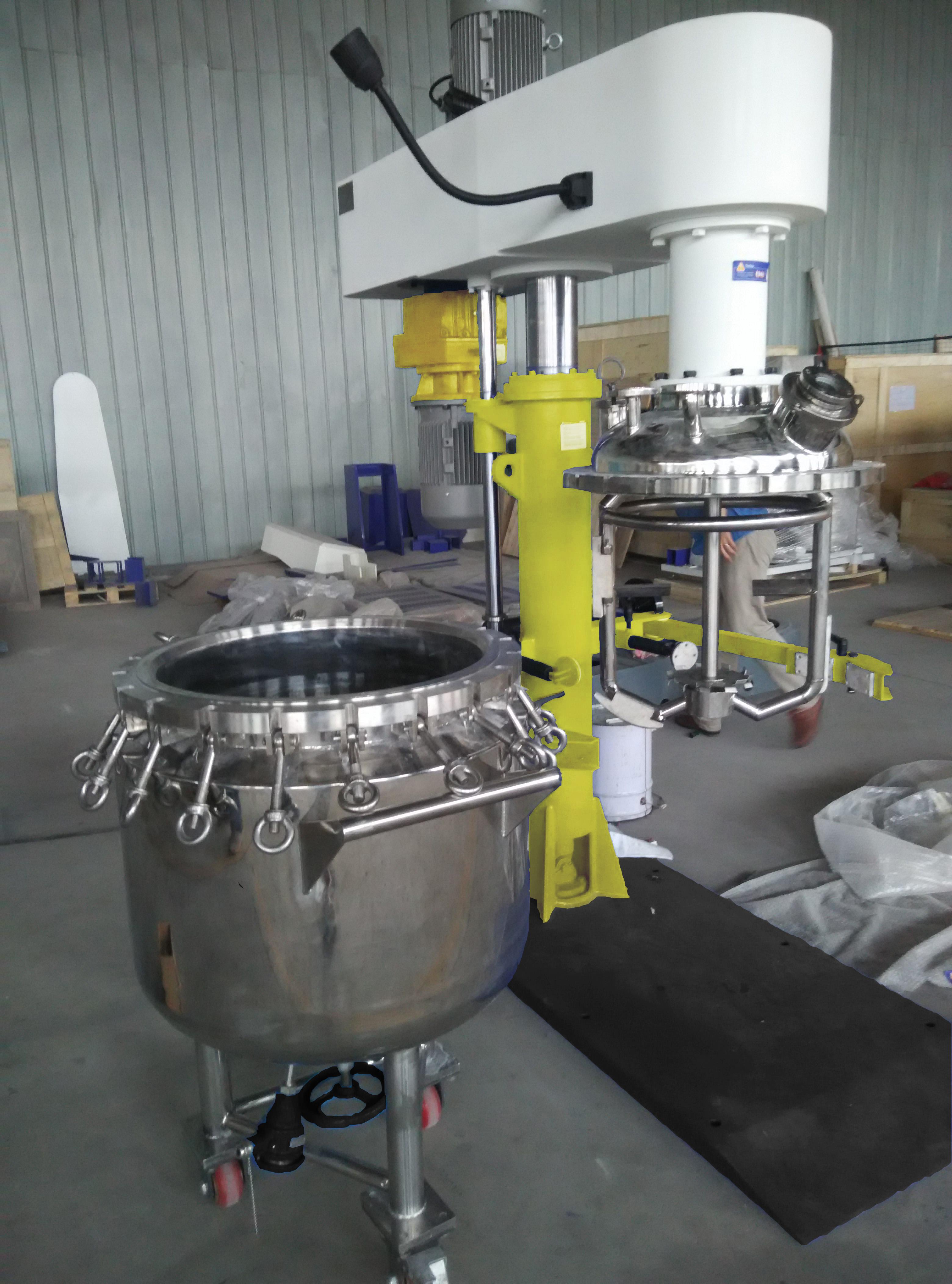 Coaxial Disperser & Mixer