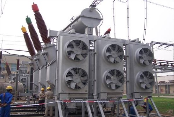 Transformer Oil Cooling Unit Building