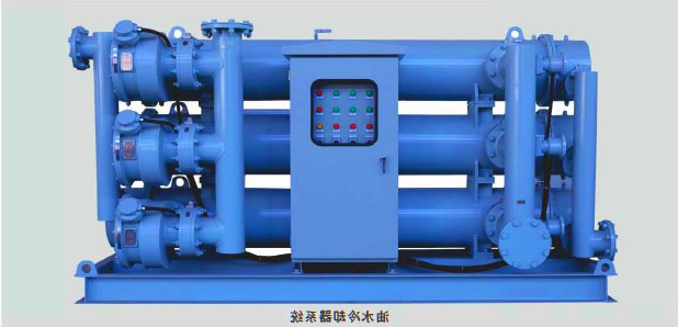 Tranformer Forced Oil Water Cooling System/Heat Exchanger