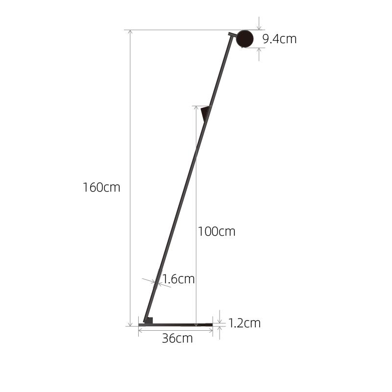 Pole H160 标杆落地灯