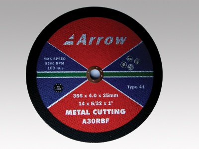 Flat metal cutting discs (T41)