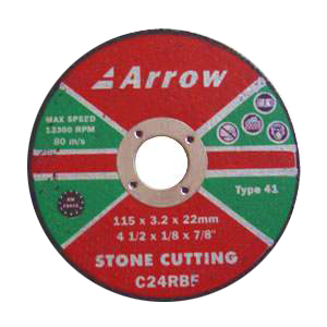 Flat stone cutting discs (T41)