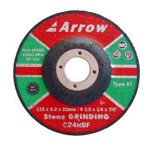 Depressed Centre Stone Grinding Discs ( Type 27)