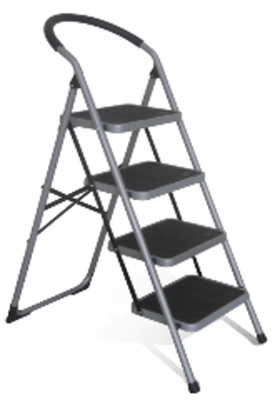 Step Ladders - 4 Tread