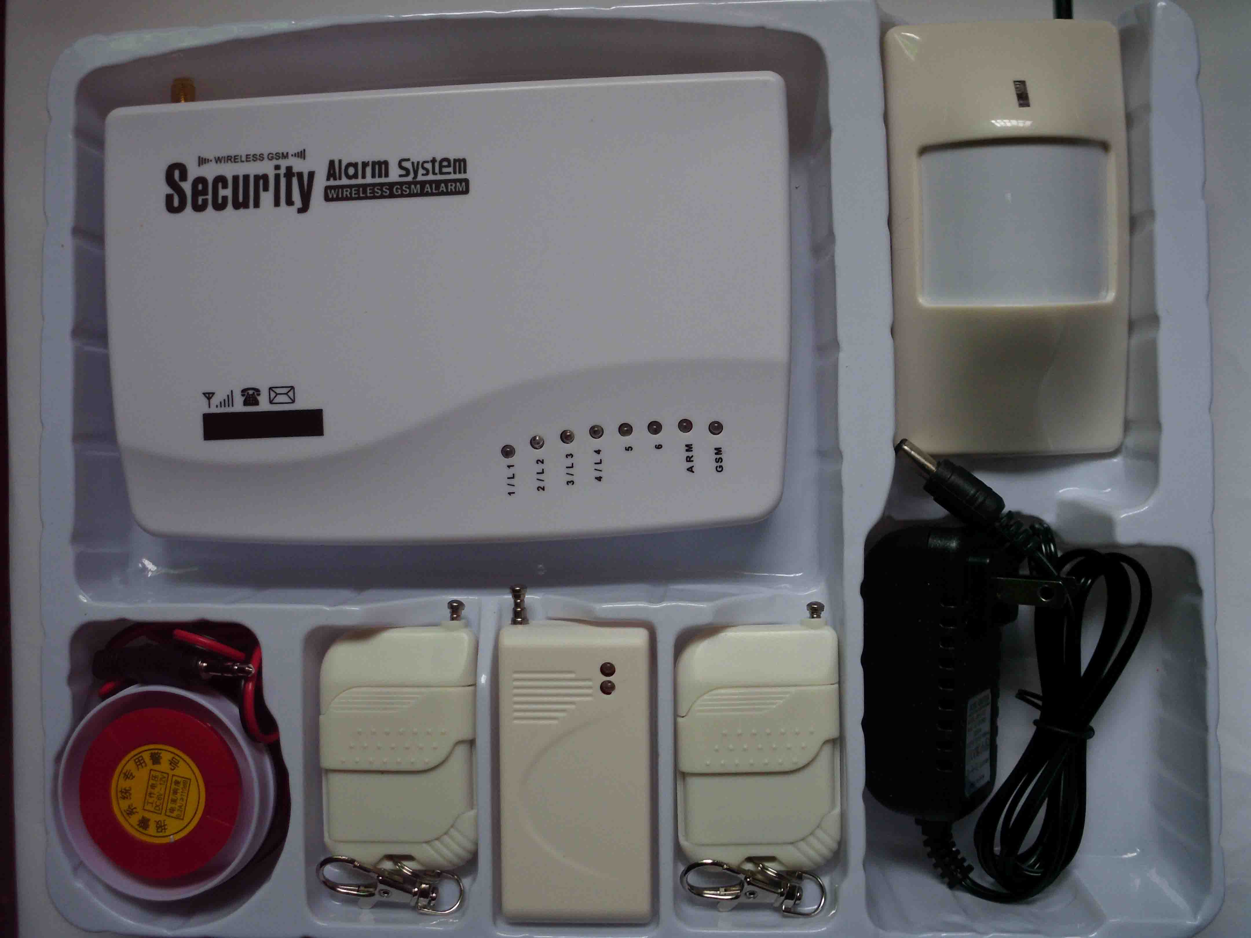 10防区GSM报警主机