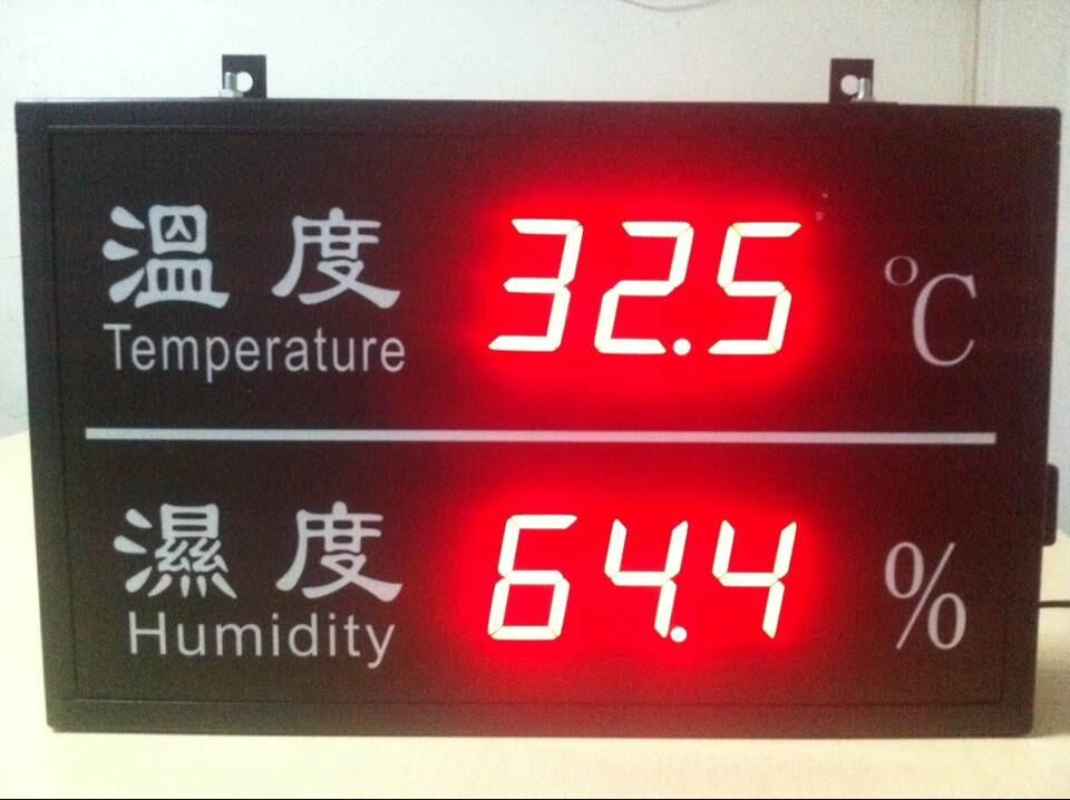 ZTTM-365HD温湿度显示大屏