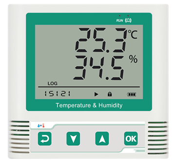 ZTTM-365HC  网络温湿度报警器(可选RJ45或者WIFI接口输出)
