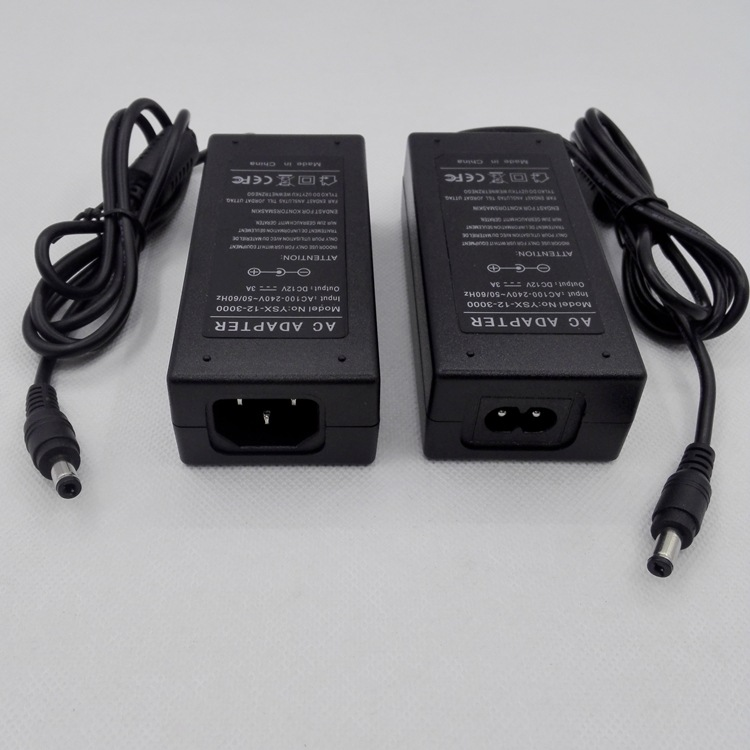 12V3A适配器3528,5630,5050灯条灯带电源36W