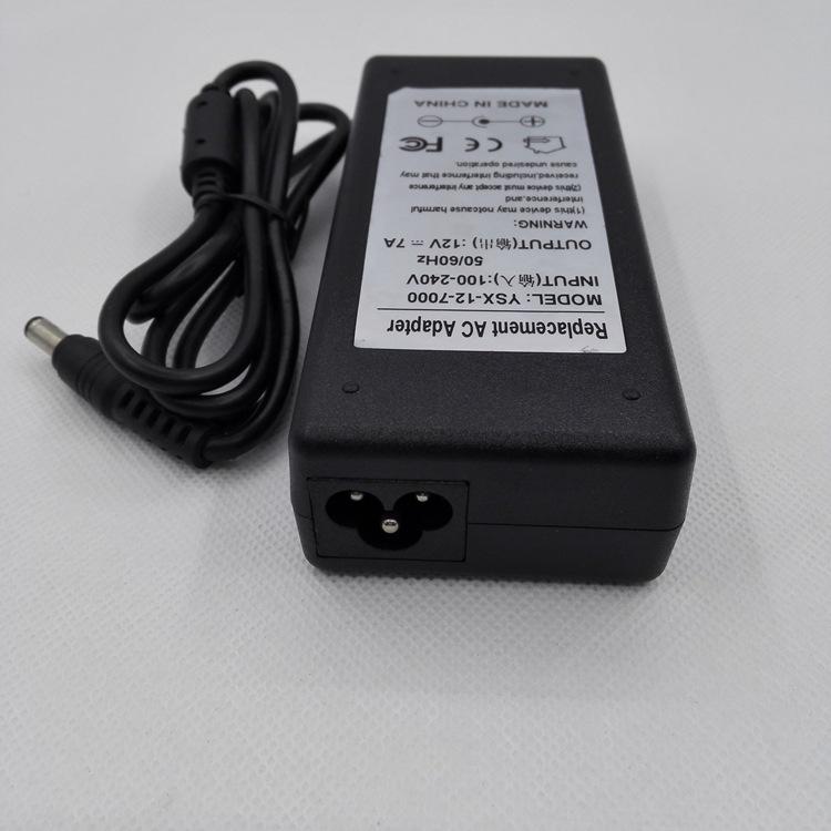 12v7A电源适配器,一体收银机电源,POS刷卡机电源