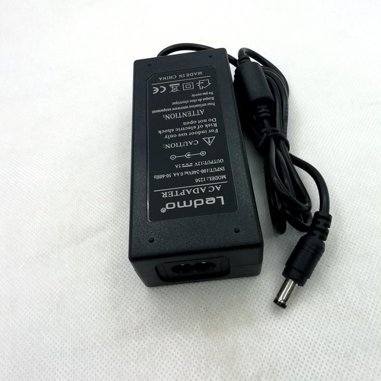 12V5A电源适配器,LEDMO NO:1250
