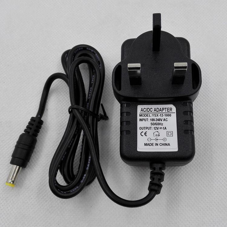 12V1A英规电源适配器