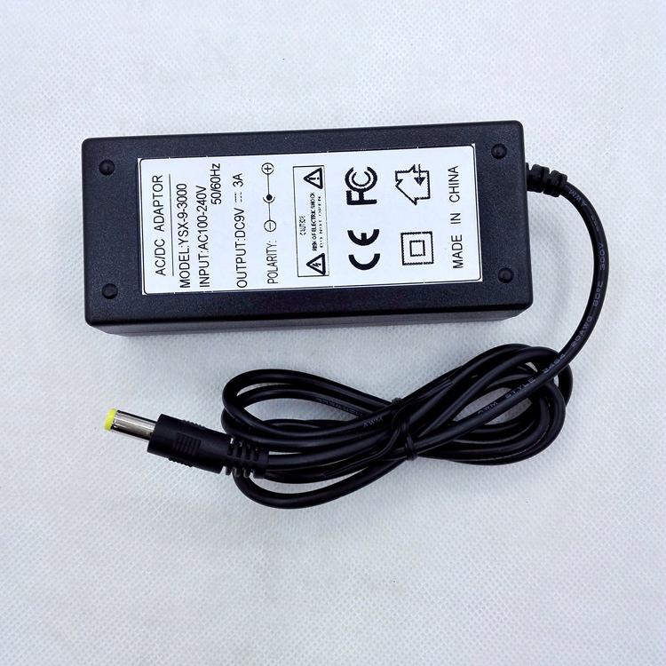 刷卡机电源,9V3A,适配器,9V3000MA,安防监控桌面式电源