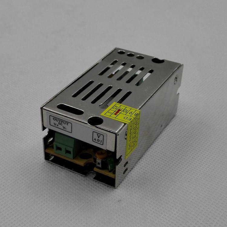5V12W开关电源,5V2.4A恒压电源,铝铁壳电源,S-12-5