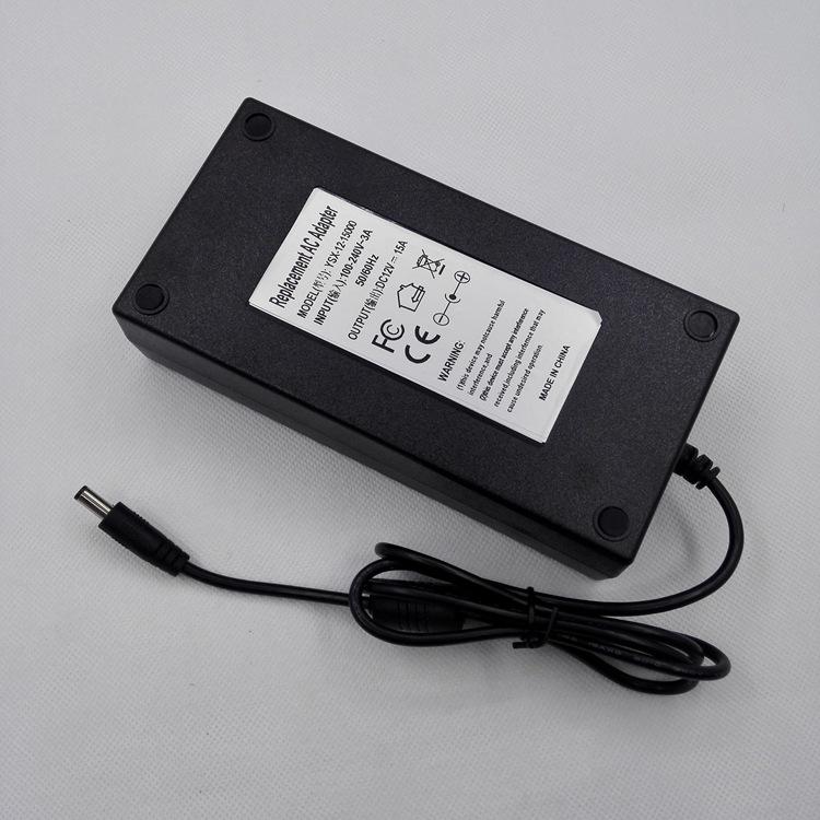 直流开关电源,12v15A适配器,180W胶壳恒压电源