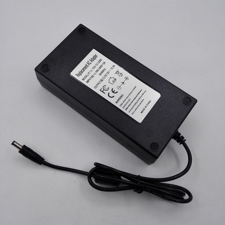 摄影灯电源,150W适配器 12v12.5A,大功率电源